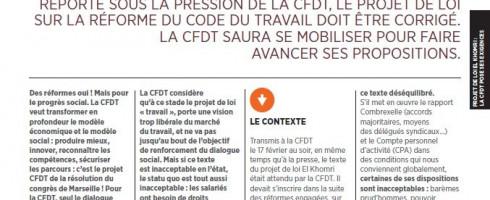 Projet de loi El Khomri : la CFDT pose ses exigences