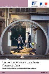 personnes vivant dans la rue