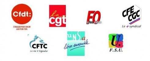 DÉCLARATION DES ORGANISATIONS SYNDICALES CFDT, CGT, FO, CFE-CGC, CFTC, UNSA, ET FSU