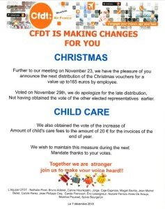 Tract CFDT 2